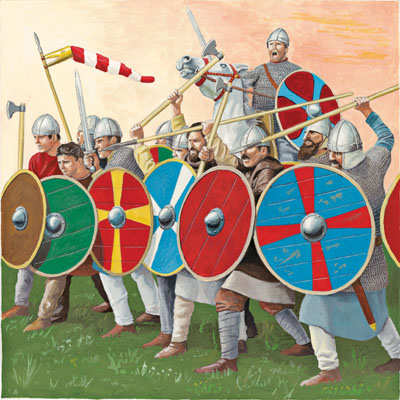 Who were the Saxons?