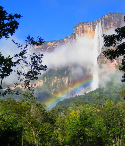 What is the world's highest waterfall?