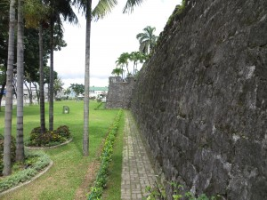Fort San Pedro walls