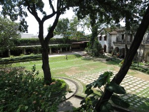 Fort San Pedro courtyard